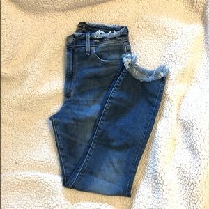 High rise jeans- Abercrombie and Fitch
